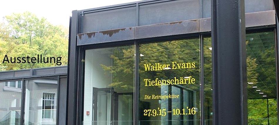 Walker Evans im Josef Albers Museum